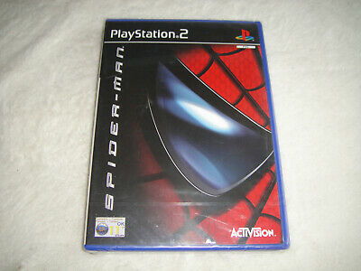 Spiderman - Sony Playstation 2 PS2 Game - NEW / Factory SEALED - RARE