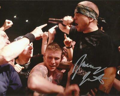 REPRINT - JAMEY JASTA Hatebreed Signed 8 x 10 Glossy Photo Poster RP