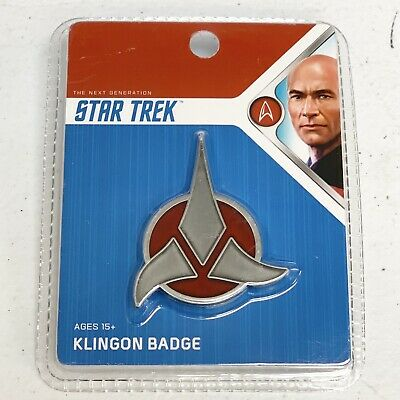 Star Trek  Magnetic Klingon Badge Loot Crate Collectible Snap On NEW!
