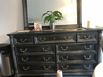 Sideboard and Mirror Grey