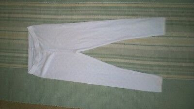 George Girls White Thermal Leggings Age 5-6 New without Tags