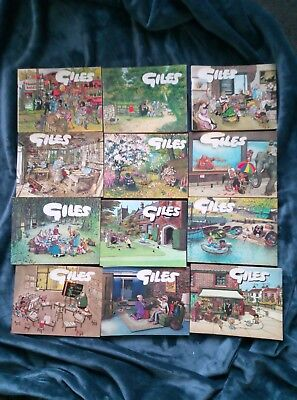 Giles Book Bundle - Newspaper Cartoons (12)