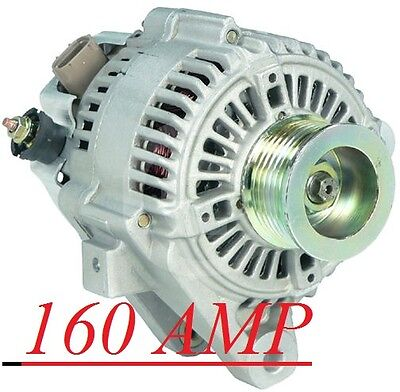 Rav4 L4 2.0L 2001-2003 Toyota Rav4 L4 2.4L 2004-2005 160 High Amp Hd  Alternator