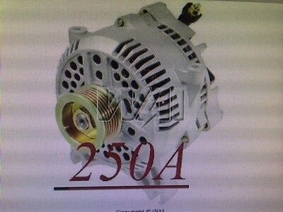 ALTERNATOR HIGH OUTPUT 250 Amp 5.4L 6.8 FORD F TRUCK 05 06 07 08 F250 F350 F450