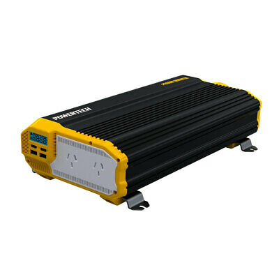 2000W(4000W) 12VDC-230VAC Modified Sinewave Inverter with 2X2.1USB & LCD Display