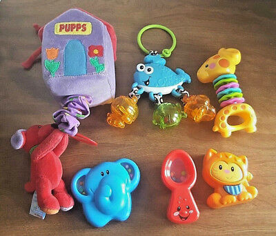 Baby Developmental Baby Toys Lovely Fisher Price Baby 2 Toy Bundle Lot Rattles