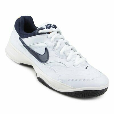 best service 08db7 3df4c Nike Men s Court Lite tennis shoes - UK 6.5 in white and navy blue