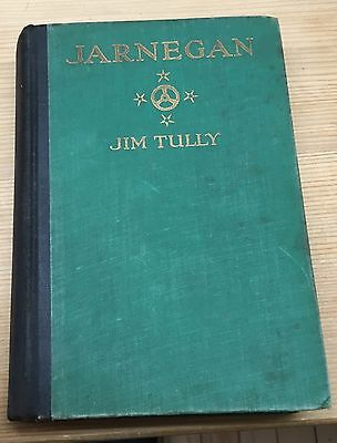 Jarnegan Jim Tully 1926 Albert & Charles Boni Charlie Chaplin Hollywood Fantasy