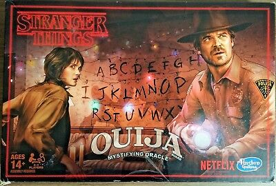 Stranger Things Ouija Board Game Alphabet Wall Licensed Netflix Hasbro NEW OTHER
