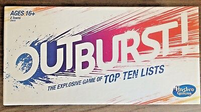 Hasbro Outburst Game NEW OTHER (OPEN BOX)