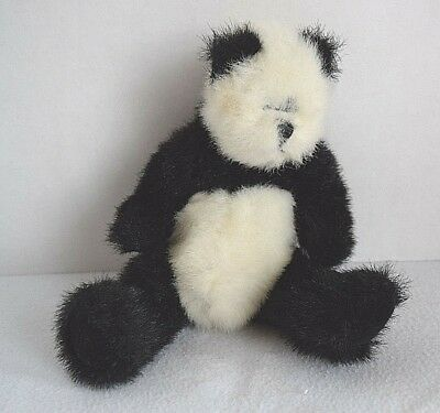 Checkers the Black and White Panda Bear NWMT Ty Attic Treasures