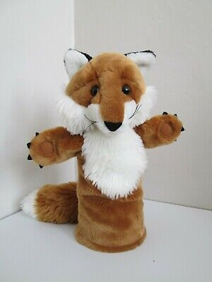 The Puppet Company FOX Plush Hand Stage Puppet - 35cm - NEW