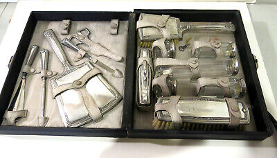 Sterling Silver Vanity Set Made By Saart Brothers 1910-1930 13 pieces