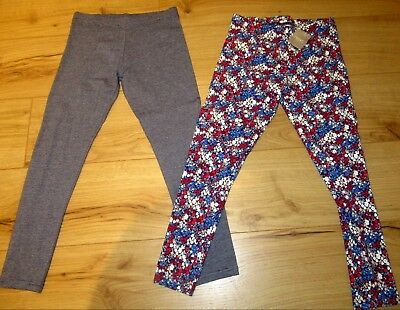 £23 NEXT Girls Legging Bundle Age 11- 12  Years party floral navy CHRISTMAS