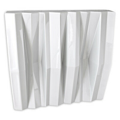 JOCAVI - Tuneflector Diffusor ABS Acoustic Panel - White (Pack of 2)