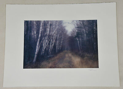Fall Connecticut Redding CT Vintage Signed Robert Farber Limited Edition Photo
