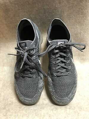 NIKE AIR VAPORMAX FLYKNIT 2 ID GREY MEN SIZE 9 Preowned