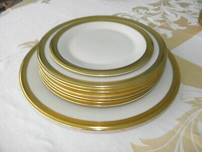 Lenox Aristocrat 24K Gold Rimmed, Halmarked, Gold Wreath