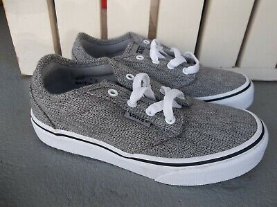 3243f861a2 NWT VANS BOYS YOUTH Atwood (Static Heather) Sneakers shoes Size 13 ...
