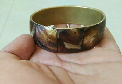 Extremely ancient viking bronze bracelet solid artifact quality very stunning