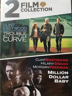 Trouble with the Curve/Millon Dollar Baby (DVD, 2018, 2-Disc Set)