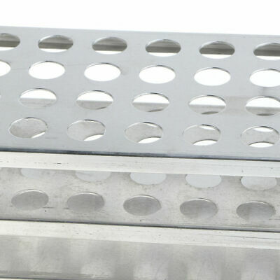 CN_ 40 Holes 12.5mm Aluminum Supporter Stand Lab Chemistry Overstate Test Tube