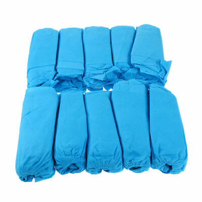CN_ 100Pcs Thickened Non-woven safety protection cleanly Shoe Covers Overshoes