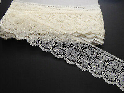 Vintage Cream Lace. 1960's. Price per Metre