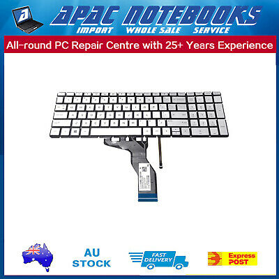 Keyboard backlit Silver For HP 15-BS044TU 1ZV27PA