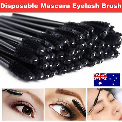 50/100/200/500/1000X Disposable Mascara Wands Eyelash Brush Applicator Extension