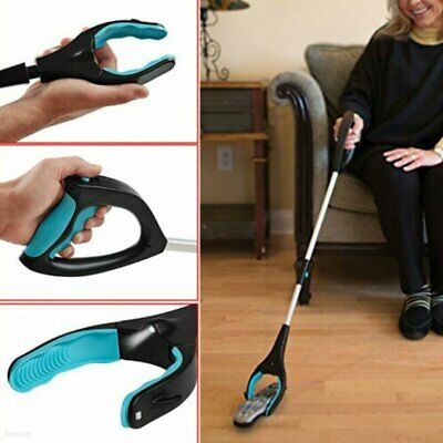 Foldable Pick Up Tool Easy Reach Grab Grabber Stick Extend Reacher NW