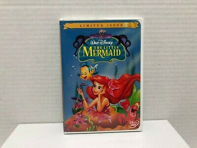 Disney's THE LITTLE MERMAID ( DVD 1989 ) LIMITED ISSUE Complete CIB U.S. Version
