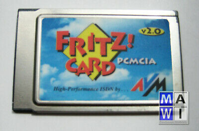AVM Fritz Card Isdn V2. 0 Pcmcia without Cable