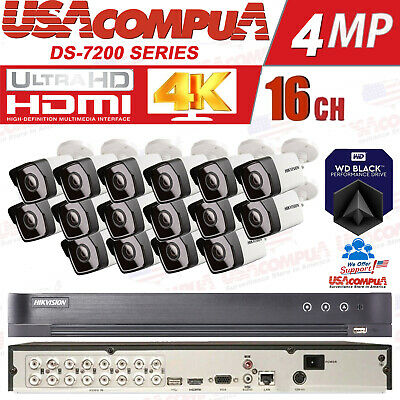 NEW Q-SEE 8 Channel 4 Camera 1080 Full Hd Security System