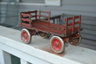 Arcade Cast Iron Toy Whitehead & Kales Wagon Vintage Arcade Cast Iron Toy 1920s