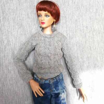 """dolls clothes white sweater For Tonner Tyler 16/"""" doll Franklin Dolls tonner doll"""