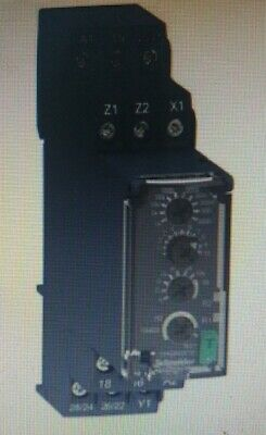 Schneider MULTI-FUNCTION TIMING RELAY 24-240V AC/DC 0.05s-300h 1xC/O 8A