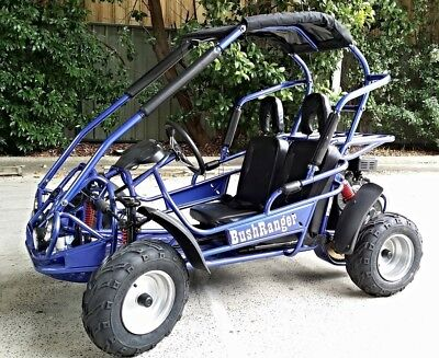 BUSH RANGER 200cc 4 STROKE BUGGY, GO KART, AUTOMATIC ELEC START QUAD ATV