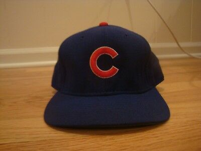 cf26b4bd VTG Chicago Cubs Sports Specialties Pro Model hat cap 7 1/4 fitted 90s Wool