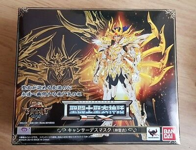 Saint Seiya Myth Cloth Bandai Cancer Deathmask Ex Soul of Gold God Cloth
