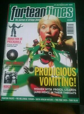 Fortean Times issue 119 Feb 1999 postal discount offered for multiple purchases
