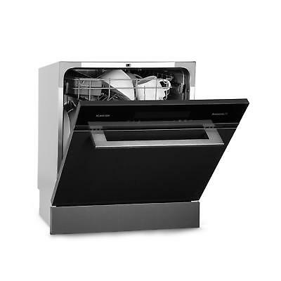 Built-in Dishwasher Cleaner Energy A+ Drying 8 Settings Stainless Steel Black