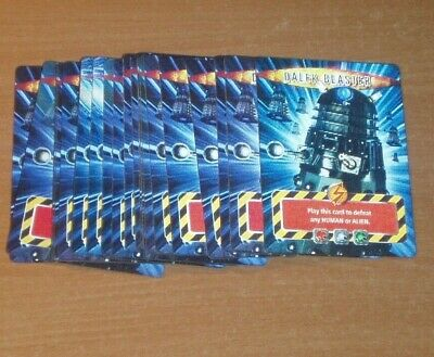21 Doctor Who Battles In Time Dalek Blaster lenticular cards