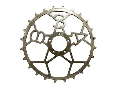 BSA inch pitch Track Chainring skip tooth vintage pista bike