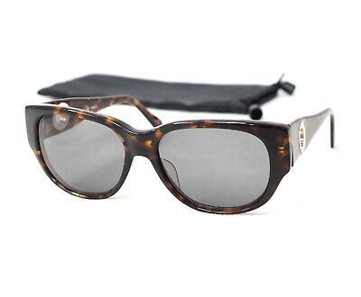 CELINE CLF-485 sunglasses rectangular brown tortoise gold glasses paris
