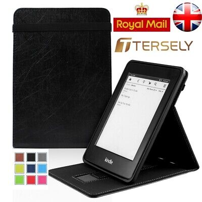 Premium Flip Smart Magnetic Cover Leather Case Stand Kindle Paperwhite 1 2 3