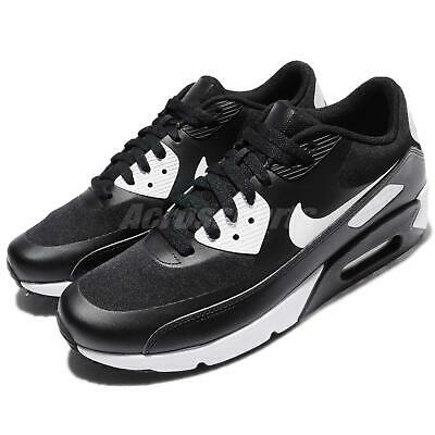 separation shoes 24537 d1469 Nike Air Max 90 Ultra 2.0 Essential Black White Men Running Shoes 875695-008
