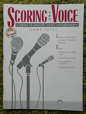 Scoring for Voice - Jimmy Joyce: Guide to Writing Vocal Arrangements Includes CD
