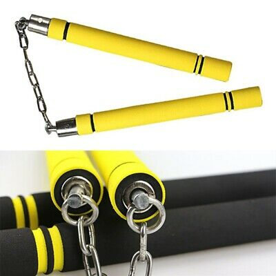 25/28cm Training Safety Foam Nunchakus Nunchucks Stick  For Martial Art Karate