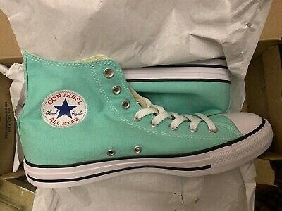 d0400728a01e Converse Chuck Taylor All Star CT Hi Top Size 12 Mint Green 136561F Beach  Glass